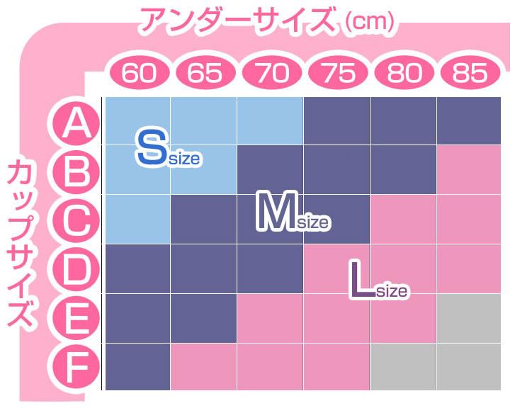 Moriageサイズ表