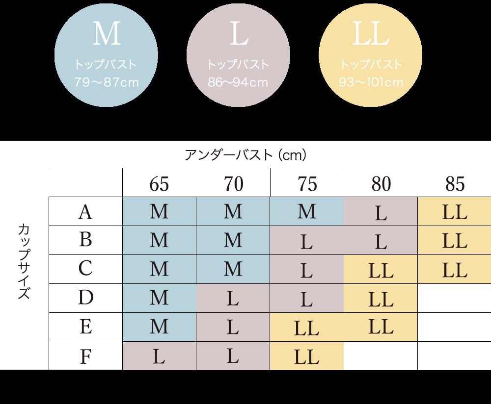 セレブラサイズ表