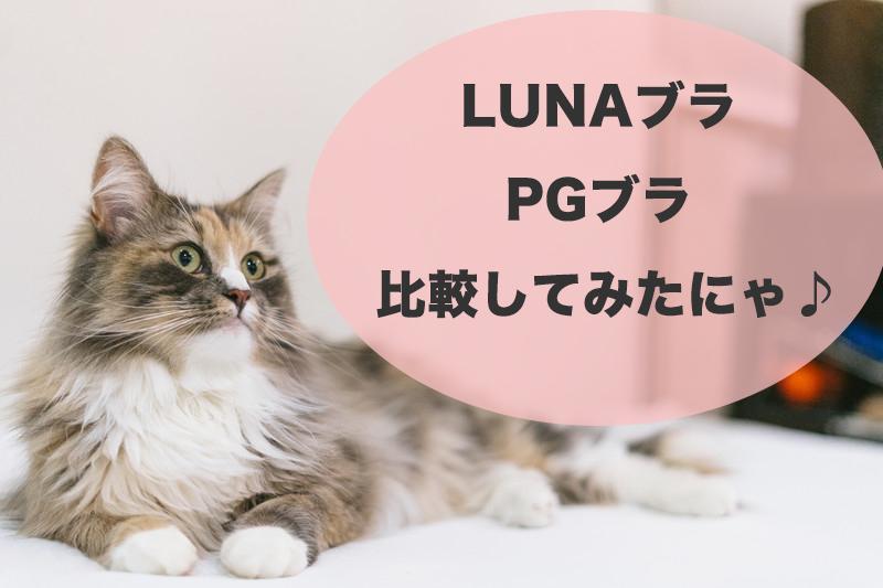 LUNAナイトブラとPGブラを比較